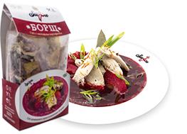Борщ суп быстрого приготовления от производителя, сухпай - Suppa Kharnas овощторг