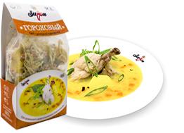 Гороховый суп быстрого приготовления от производителя, сухпай - Suppa Kharnas овощторг