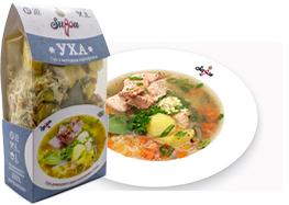 Уха суп быстрого приготовления от производителя, сухпай - Suppa Kharnas овощторг